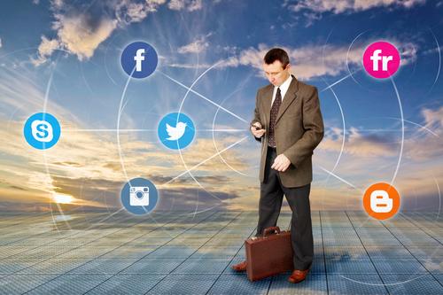 Top-Managment in Social-Media Kanälen wenig aktiv