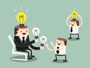 Ideen teilen