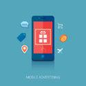 Smartphone mit verschiedenen App Symbolen