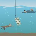 Angestellte Fischen