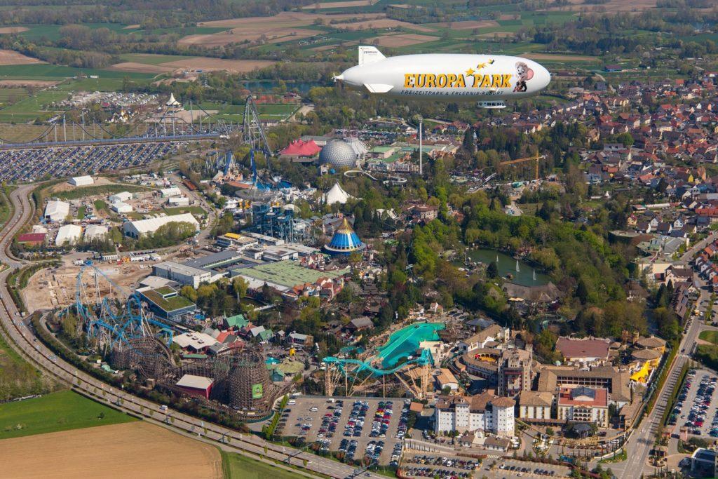 Der Europa-Park in Rust nahe Freiburg hat über 3700 Mitarbeiter und zählt jährlich über 5,5 Millionen Besucher. Foto: Europa-Park GmbH