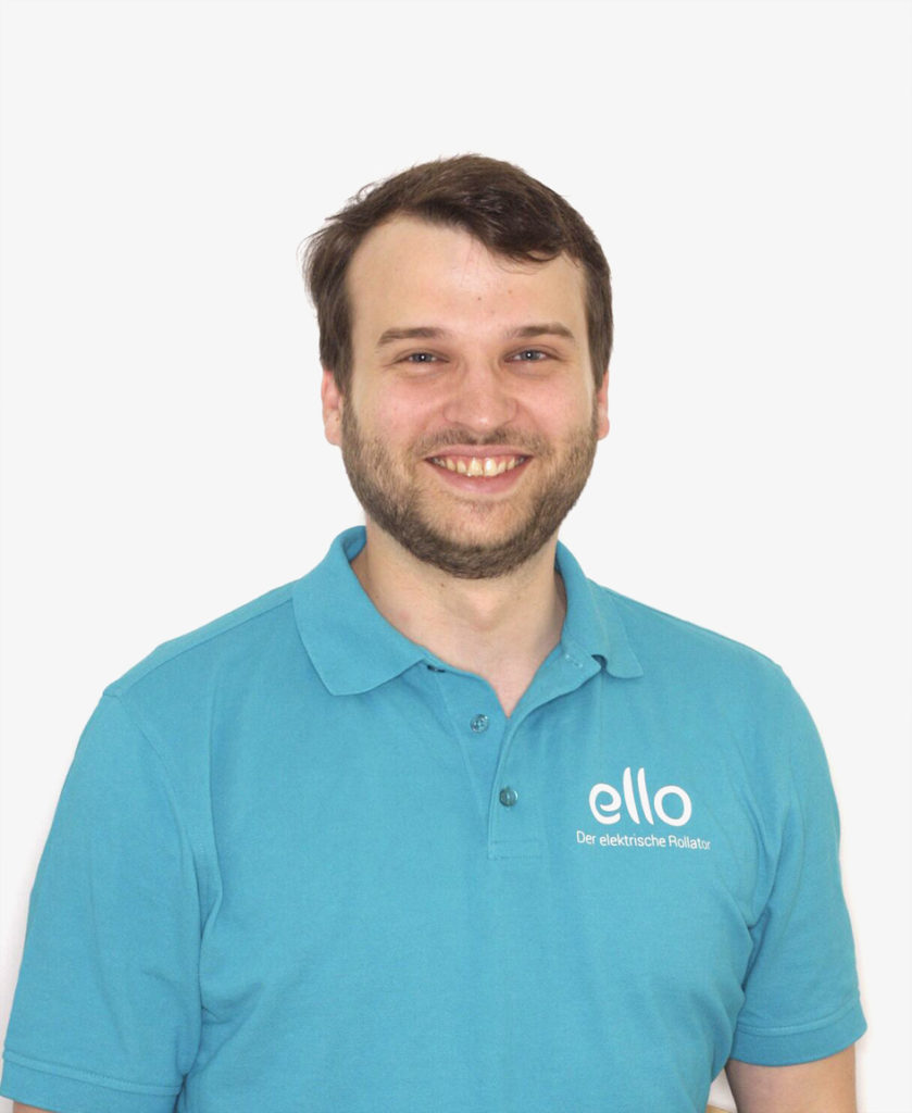 Benjamin Rudolph: Gründete eMovements und ist Mitentwickler des ersten elektrischen Rollators
