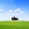 Geschäfts-Zusammenarbeits-Kollege Occupation Partnership Teamwork