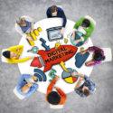 Leute-Teamwork-Digital-Marketing-Anzeigen-Technologie