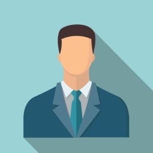 Geschäftsmann-Symbol