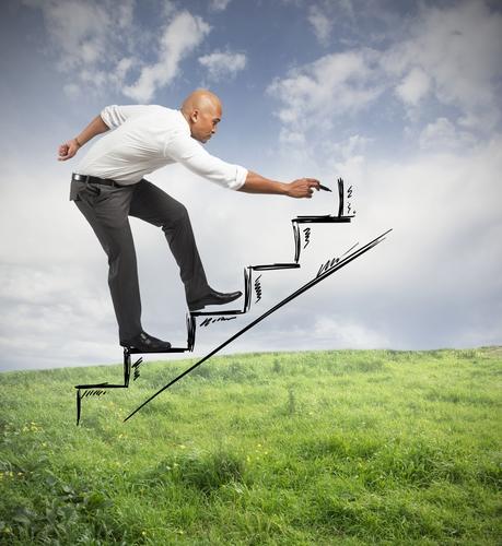 Schritt für Schritt berufliche Ziele erreichen