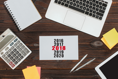 Als Selbstständiger Marketing-Vorsätze für 2018 fassen und umsetzen