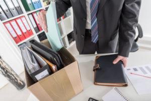 Konzept des Arbeitsplatzverlustes