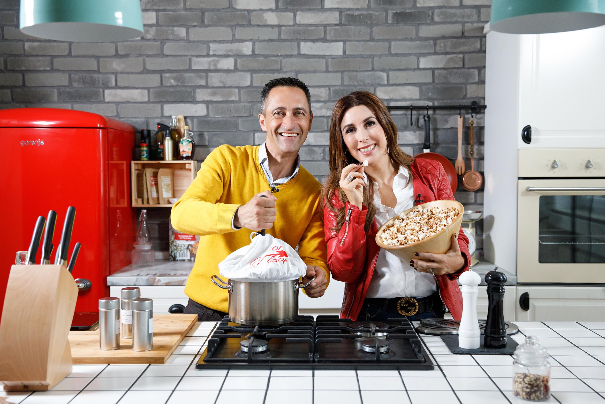 Popcornloop Judith Williams und Murat Akbulut