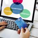 Geschäfts-Branding-Marketing-Werbekonzeption