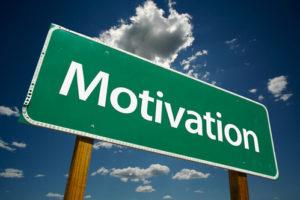 Motivation Straßenschild