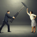 Konflikt zwischen Mann und Frau