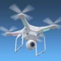 Drohne im Himmel