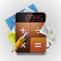 Taschenrechner mit Rechnungen