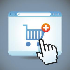 Vektor-Internet-Shopping-Konzept