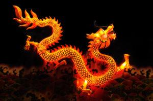 Chinesische Drachenlaterne