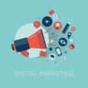 Digital-Marketing-Konzeptillustration