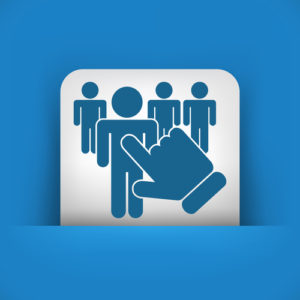 Personenauswahl-Symbol