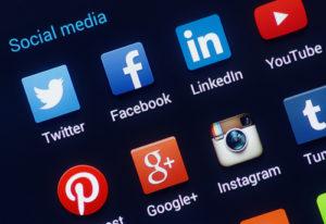 Verschiedenste Soziale Netzwerk Apps