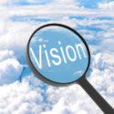 Lupe, die Vision schaut