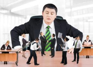 Chef und Business-Team