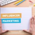 Beeinflusser-Marketing-Konzept