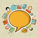 Kommunikationskonzept der Social Media-Netzwerke