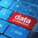Datenschutzkonzept: Datenschutz auf Computertastaturhintergrund