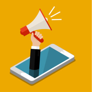 Konzept des digitalen Marketings