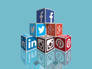 Social Media Blöcke
