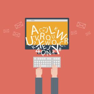 Bloggen und Schreiben für die Website