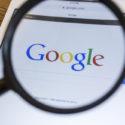 Lupe über Google Suchmaschine