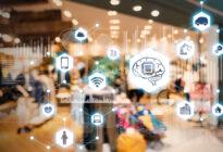 Shop and AI. E-commerce Konzept