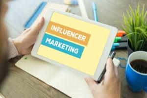 Influencer Marketing Konzept
