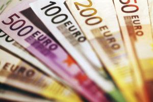 Hintergrund der Eurorechnungen.