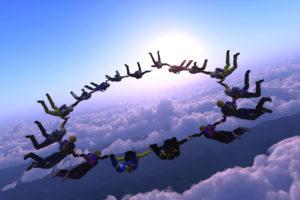 Sport ist im Himmel