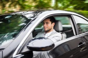 Mann, Autofahren, Auto
