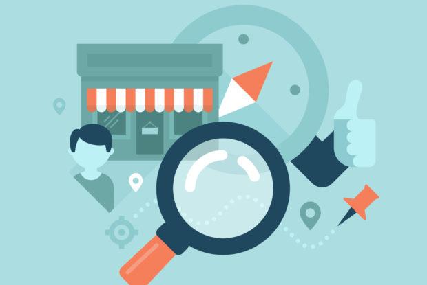 Werbemaßnahmen für das kleine Geschäft um die Ecke