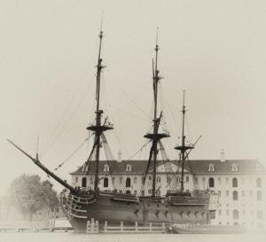 VOC Amsterdam, Handelsflotte