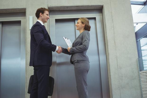 Das richtige Verhalten im Aufzug