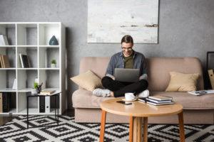 Home-Office: Arbeiten von zu Hause