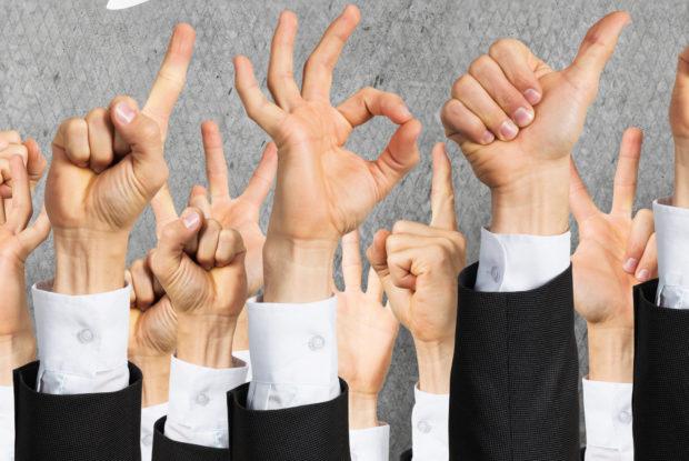 Wie Sie als Manager Gestik richtig einsetzen