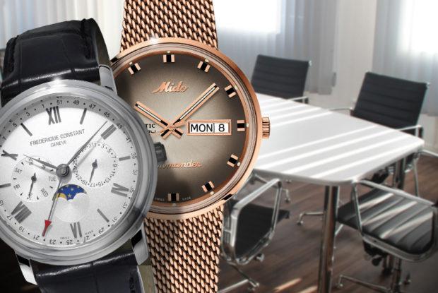 Elegante Uhren für den Business-Alltag