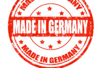 Made in Germany-Aufdruck