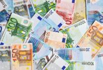 Unterschiedliche Eurogeldscheine