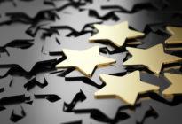 Mehrere Sterne als Kundenbewertungen