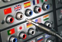 Auswahl von Ländern anhand einer Flagge