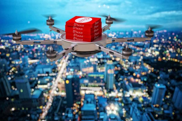 Jeder Dritte würde sich Pakete gern per Drohne liefern lassen