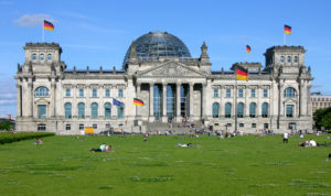 Berliner Reichstag, Bundesregierung Deutschland