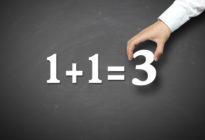 Fehler bei Fehlannahmen: 1+1=3